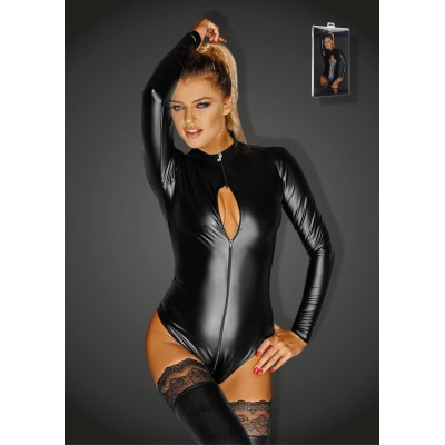 Wetlook Body mit 3-Wege Zipper